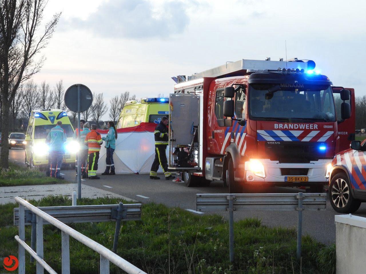 Automobilist overleden na eenzijdig ongeval.